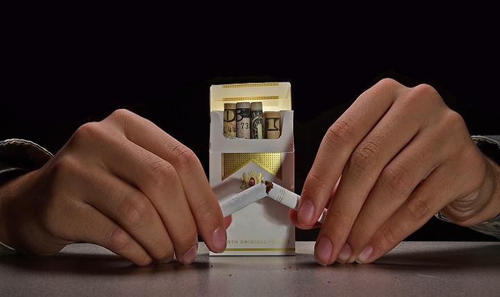 Quitting tobacco is hard. In fact, it's common for people to relapse several times before kicking the habit completely. Whether your preference is lighting a cigarette or using a smokeless variety, tobacco can be difficult to part with. (U.S. Air Force photo illustration by Airman 1st Class James L. Miller)
