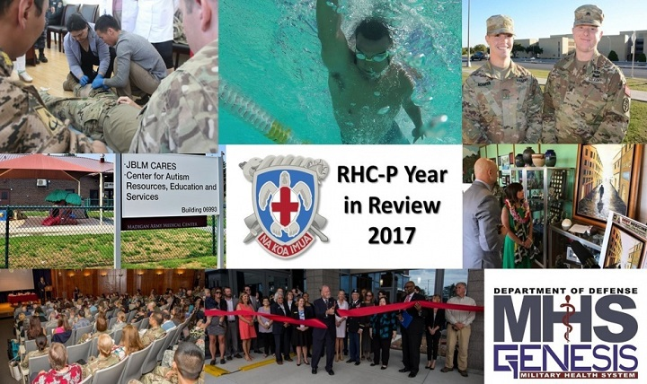 Regional Health Command-Pacific reflects upon major accomplishments celebrated this year in support of its mission of providing combatant commanders with medically ready forces and ready medical forces conducting health service support in all phases of military operation.