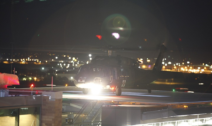 As a Level I trauma center, Brooke Army Medical Center at Joint Base San Antonio-Fort Sam Houston, Texas, received patients from the Nov. 5, 2017, mass shooting in Sutherland Springs, Texas. (U.S. Army file photo)