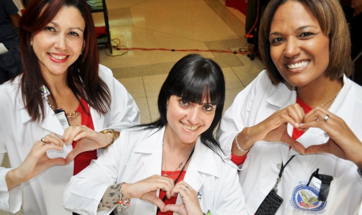 The Military Health System is encouraging people to know their risk for heart disease and understand how they can help prevent it. (VA Caribbean Healthcare System photo by Joseph Rivera Rebolledo)