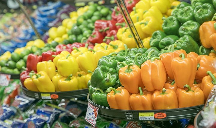 For adults, the current daily recommendation is 2-3 cups of vegetables and 2 cups of fruit. Remember that raw, cooked, steamed, grilled, and broiled varieties all count, so fill half your plate with fruits and vegetables at mealtimes. (U.S. Army photo by Honey Nixon)
