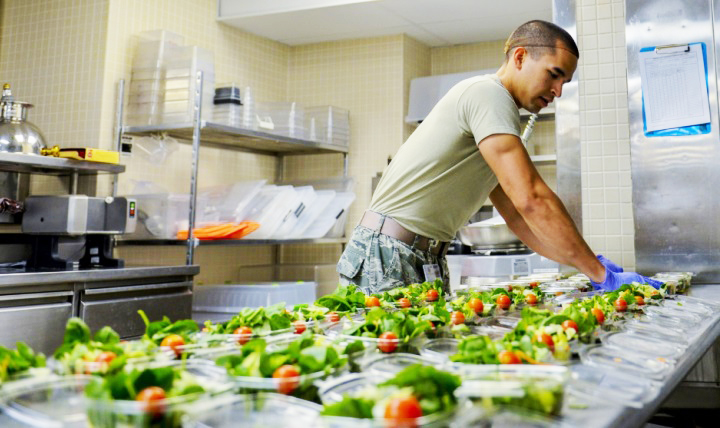 Patient care is at the core of multi-service market nutrition centers. These centers provide a range of services to meet individual patient needs within the military health community. (U.S. Air Force photo by Airman 1st Class Nathan Byrnes.)