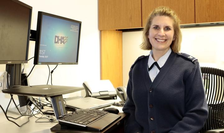 Air Force Col. Tonya Rans, chief, Immunization Healthcare Branch, Defense Health Agency.
