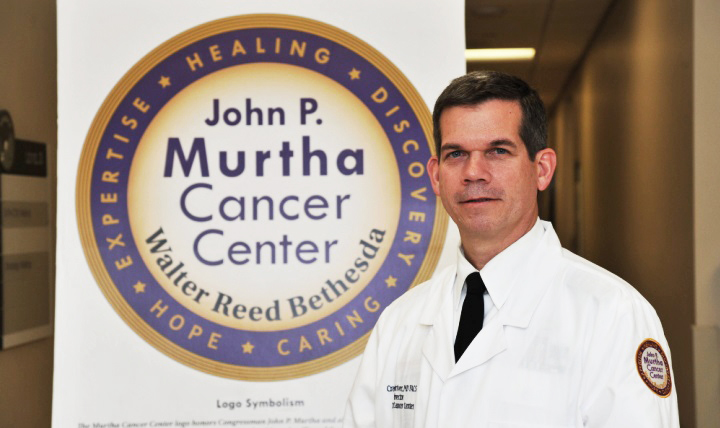 Army Col. Craig Shriver is director of the John P. Murtha Cancer Center at Walter Reed National Military Medical Center in Bethesda, Maryland.